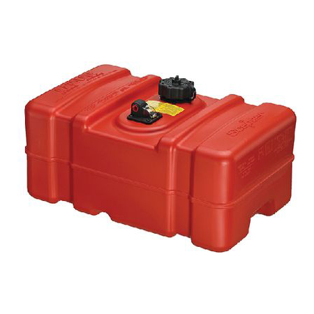 Moeller 32514 14 Gallon Below Deck Permanent Marine Fuel Tank
