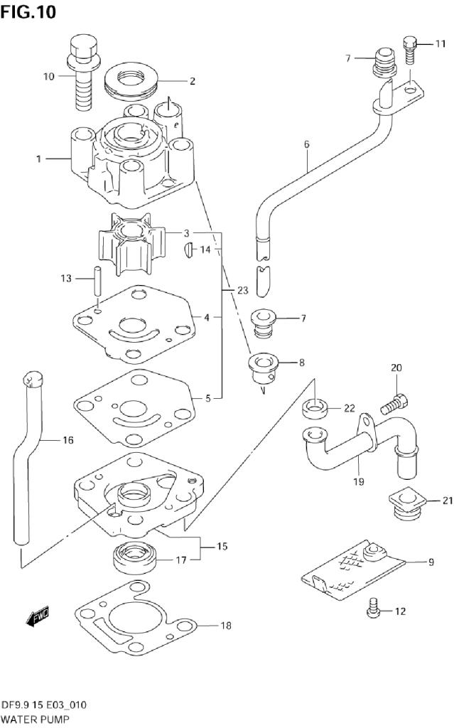 2000 Suzuki Df15 Y Parts