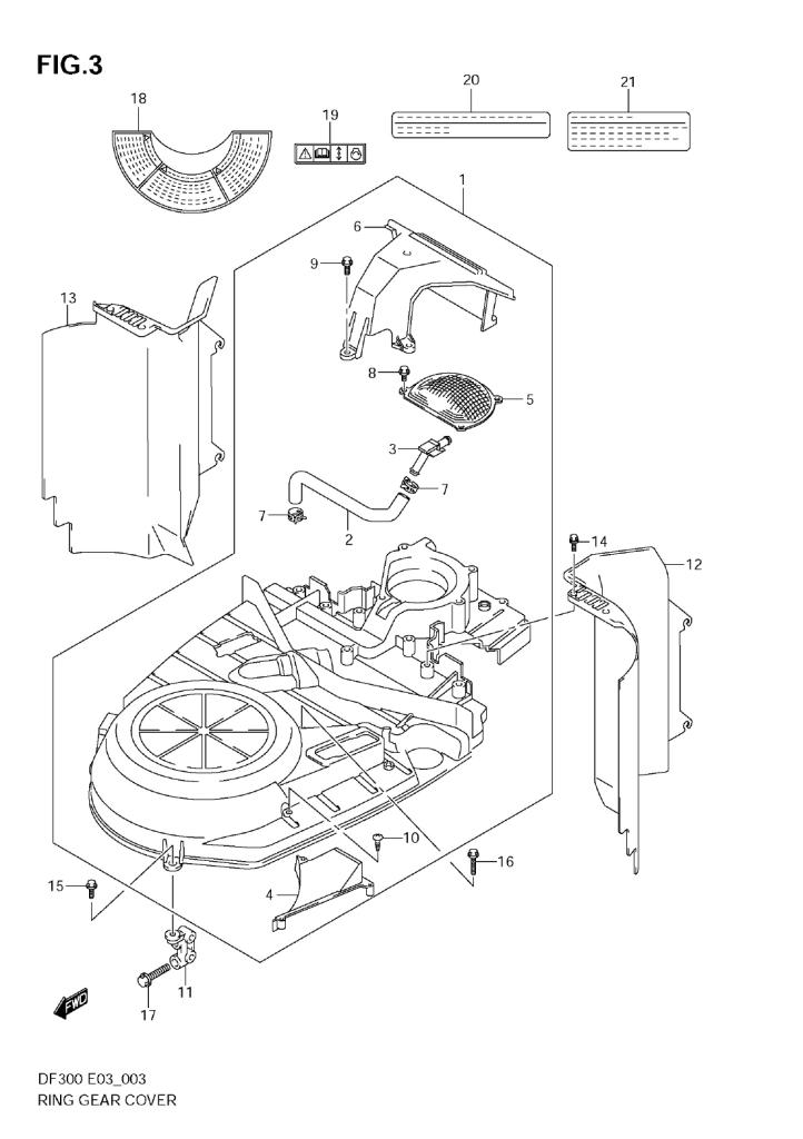 2009 Suzuki DF300 K9 Parts | iBoats