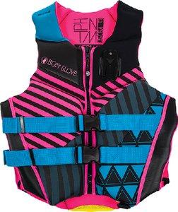 Body Glove Vests Pfd Women Phantom Aqu/Pnk Xl
