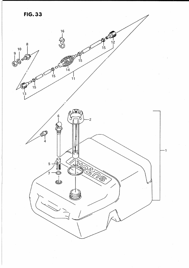 1996 Suzuki Dt8 T Parts
