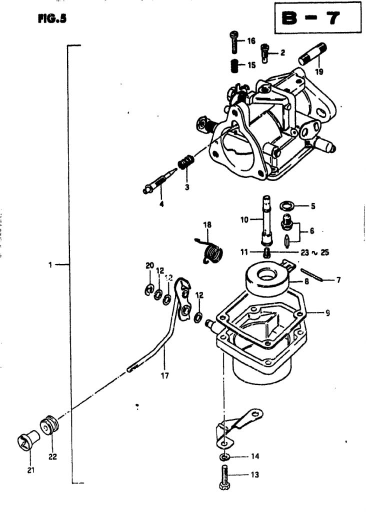 1982 Suzuki DT25 Z Parts   iBoats