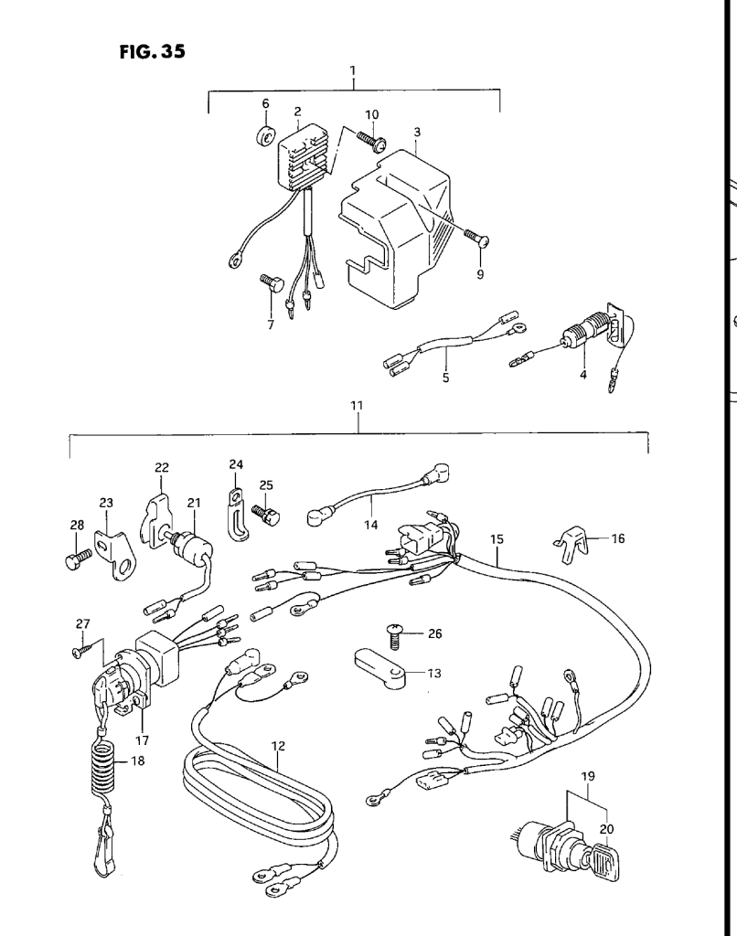 Dt25c Suzuki Wiring Schematic Library Dt 200 Outboard Diagram Optional Electrical 1998