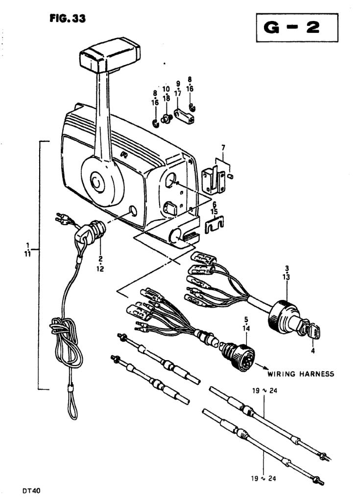 1981 Suzuki Dt40 X Parts