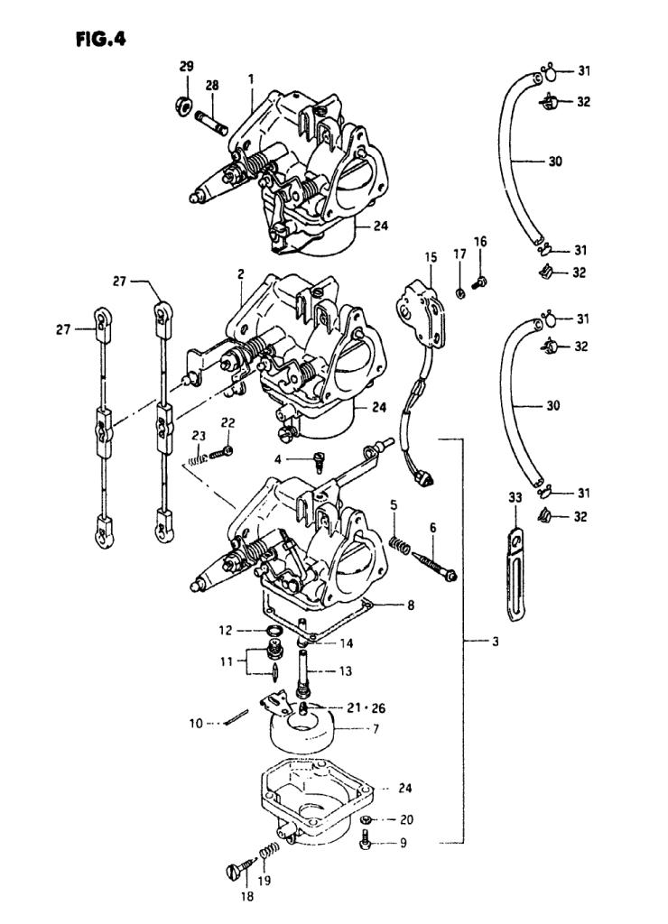 1989 Suzuki DT55 K Parts | iBoats