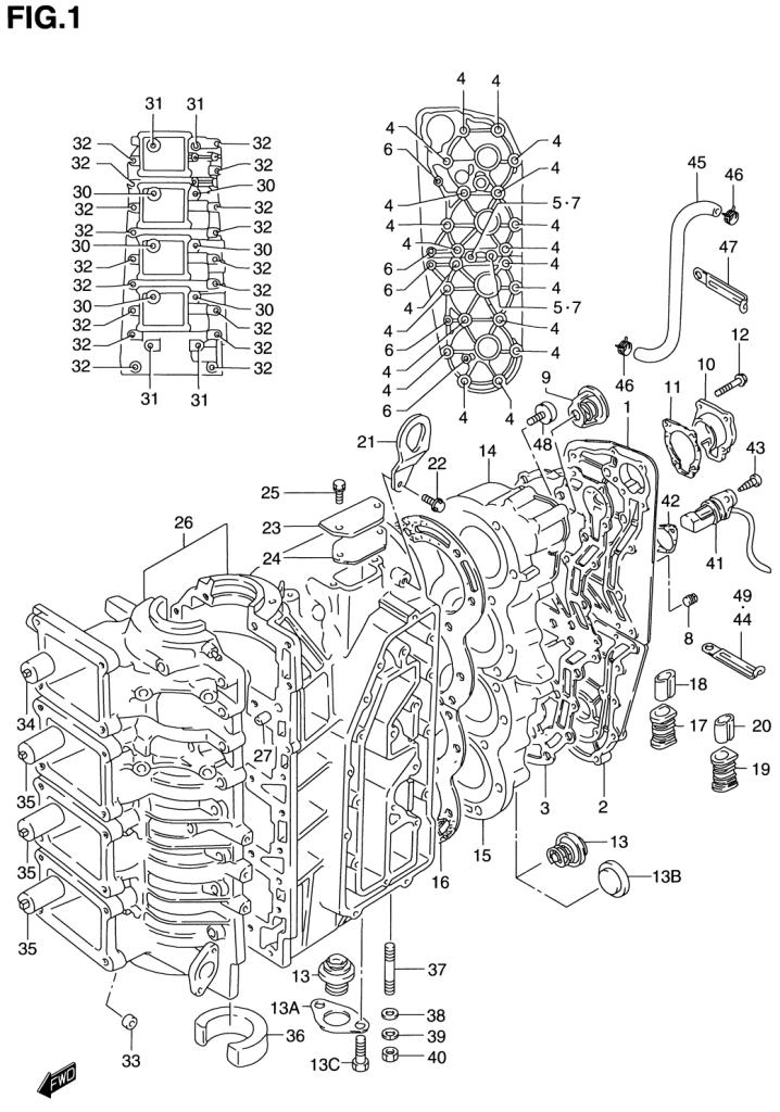 Crankcase: Wire Diagram Suzuki Dt115 At Executivepassage.co