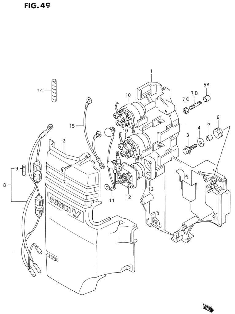1993 Suzuki Dt200 P Parts