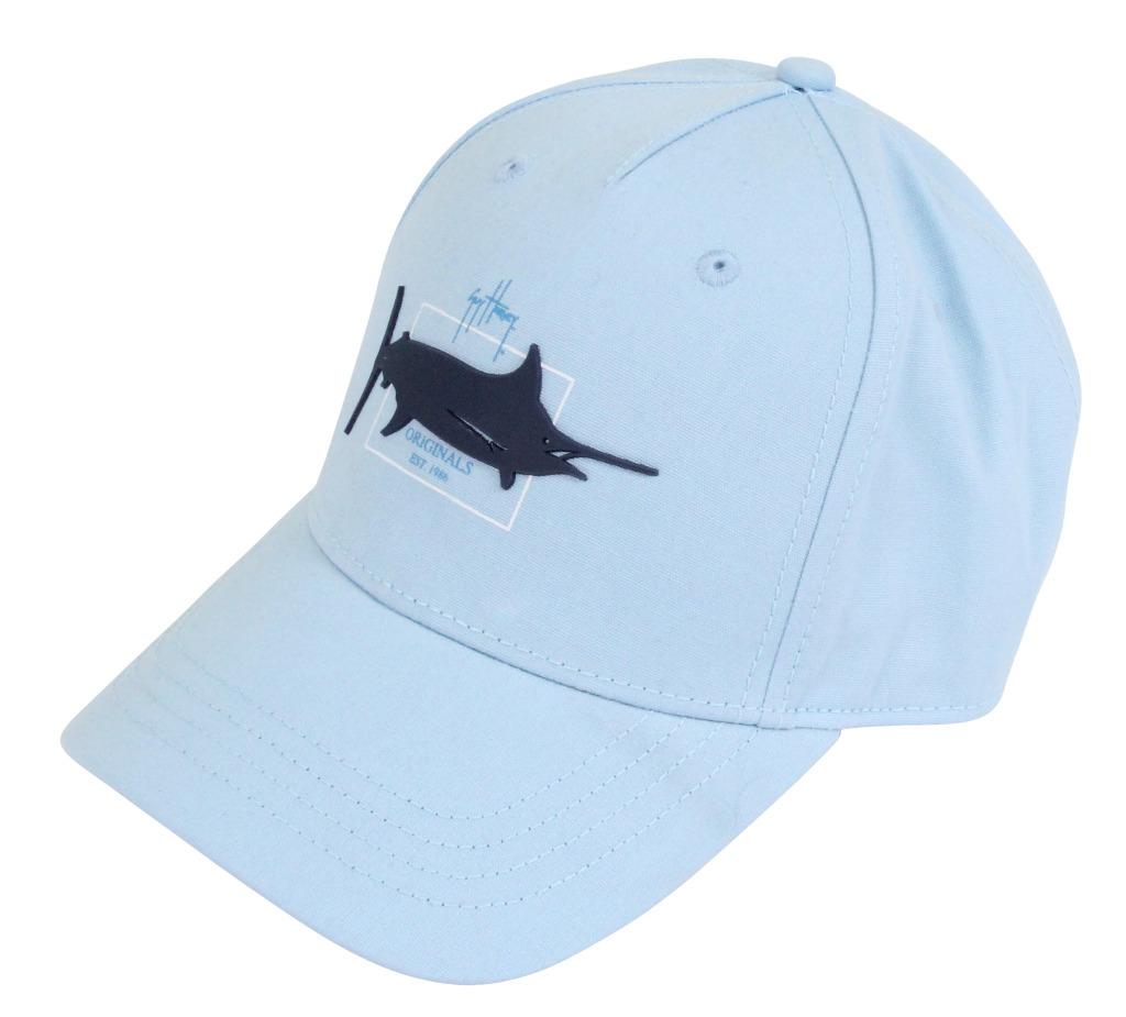 Guy Harvey Men's Castaway Hat Sky Blue Size One Size