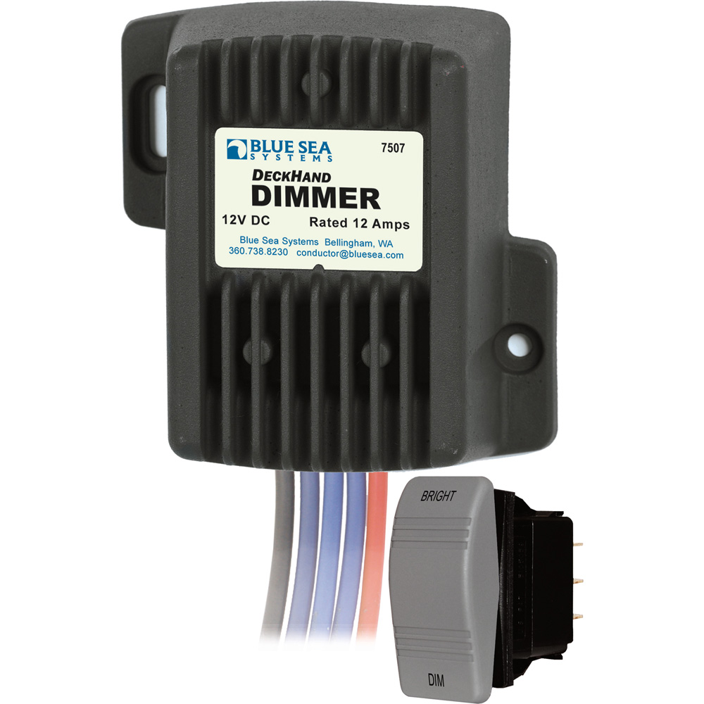 Blue Sea 7507 Deckhand Dimmer 12 Amp - Blue Sea Systems