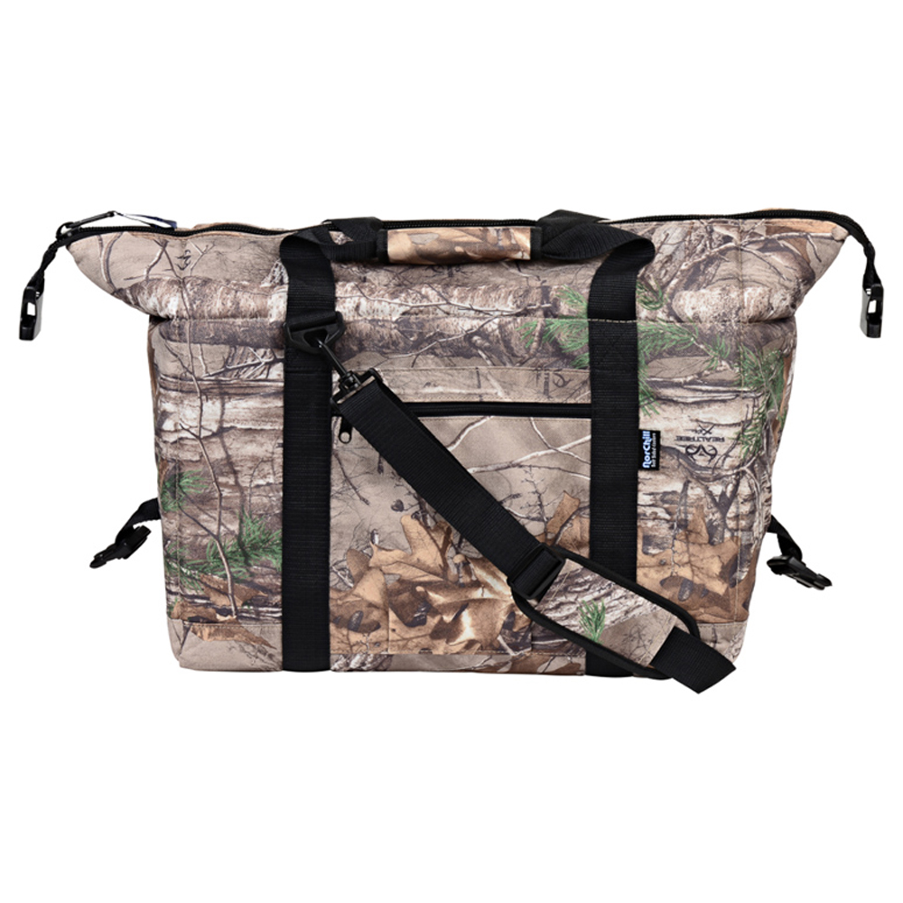 NorChill 24 Can Soft Sided Hot/Cold Cooler Bag – RealTree Camo
