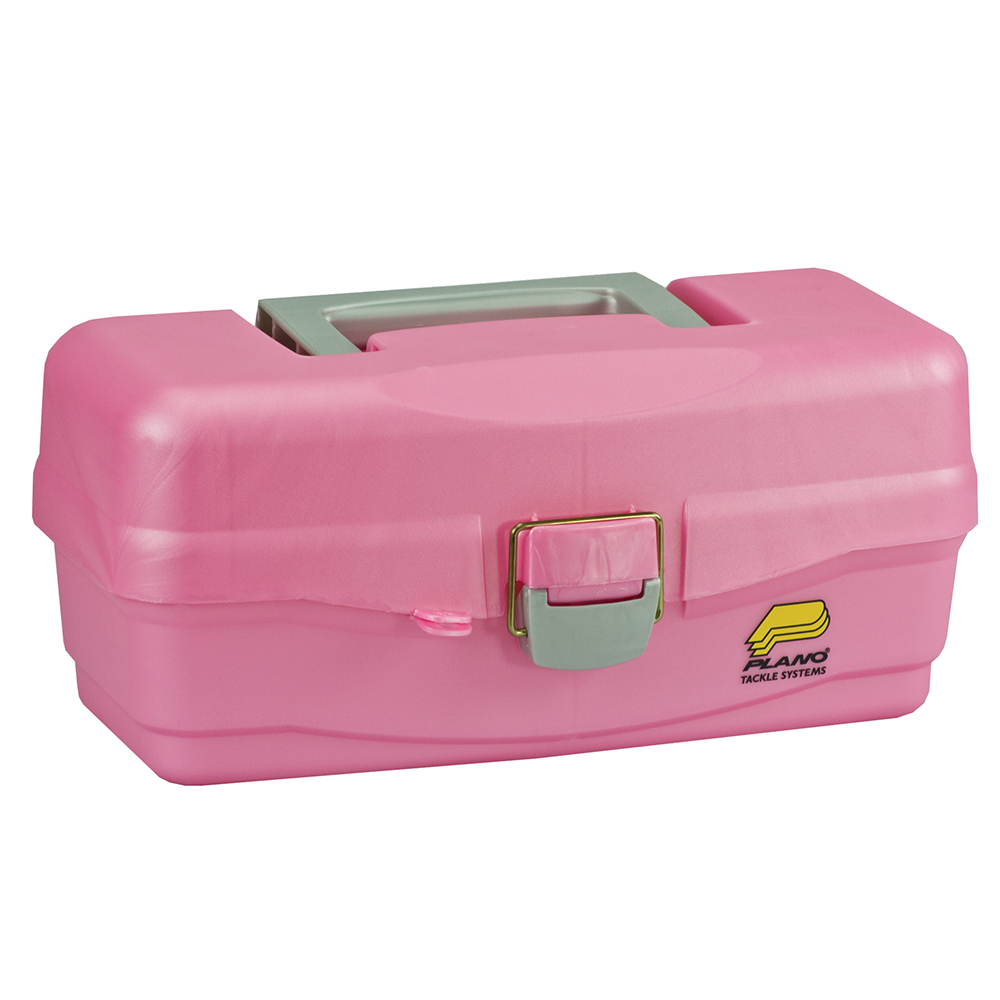 Plano Youth Tackle Box w/Lift Out Tray – Pink