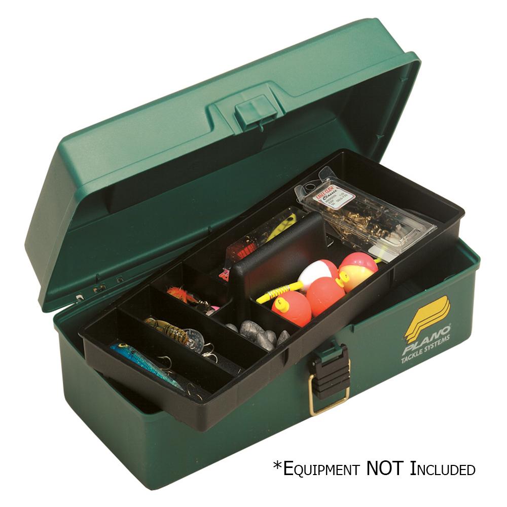 Plano One-Tray Tackle Box – Green