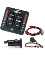Lenco LED Indicator Integrated Tactile Switch Kit w/Pigtail f/Single Actuator Systems