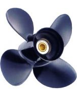 "Solas Amita  10"" x 15"" pitch Standard Rotation 4 Blade Aluminum Boat Propeller"