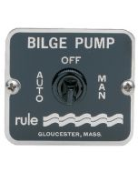 Rule 3-Way Bilge Pump Control Panel Switch