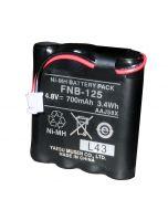 Standard Horizon FNB-125 Battery Pack f/HX100 (QTY 1)