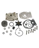 Sierra 18-3382 Water Pump Repair Kit w/ Housing for Johnson/Evinrude Outboard, Replaces 0393630