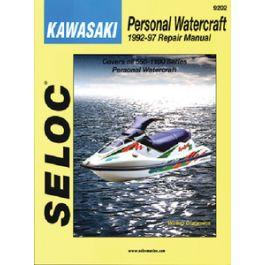 Other Seloc Service Manual Kawasaki PWC 1973-1991 #9200 Parts ...