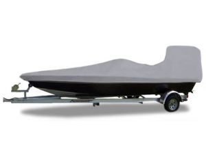 "2014-2017 Carolina Skiff DLX 16 Cc (Max Console Height 48"") Custom Fit™ Custom Boat Cover by Carver®"