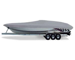 1996-1997 Boston Whaler 20 Dauntless W/ Bow Rail Custom Fit™ Custom Boat Cover by Carver®