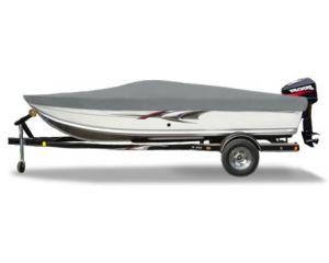2003 High Tide V-1503 Sc W/ Windshield W/ Grab Rail W/ Tm Custom Fit™ Custom Boat Cover by Carver®