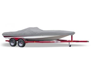 "Carver® Styled-to-Fit™ Semi-Custom Boat Cover - Fits 14' Centerline x 76"" Beam Width"