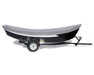 1990-2002 Boston Whaler 15 Sport W/ Side Rails Custom Fit™ Custom Boat Cover by Carver®