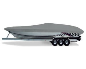 "Carver® Styled-to-Fit™ Semi-Custom Boat Cover - Fits 23'6"" Centerline x 96"" Beam Width"