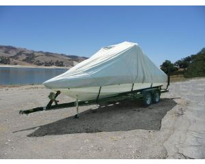 Carver® Over-the-Tower Boat Cover - Fits V-Hull Runabout and Modified V-Hull Boats
