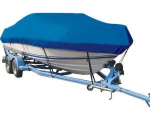 2007-2008 Crestliner 1700 Fish Hawk Sc Ptm O/B Custom Boat Cover by Taylor Made®