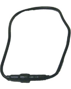 """MarineWorks Inline Fuse Holder 15"""" 10 Gauge Wire Loop with 30A SFE Fuse, Black Case"""