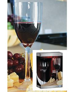 Camco, Wine Glass, 9 oz., 2-Pack, Boat Cabin Accessories