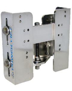"""Manual CMC Power-Lift Jack Plate, 5-1/2"""" Setback"""