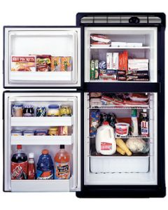 Norcold, Door Panel for DE0061, Black, Marine Refrigerators