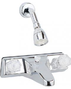 Bristol Products Tub Diverter Off Set - Tub/Shower Diverter W/ Shower Head Kit