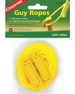 Coghlans Guy Line Kit - Guy Ropes With Slides