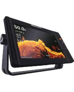 "Raymarine Element Sonar/GPS Multi Function Display w/HV-100 Transom Transducer, LightHouse NC2 US Chart, Fishing Hot Spots, 12"""