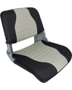 Springfield Skipper Fold-Down Chair Deluxe Charcoal/Gray/Gray Shell