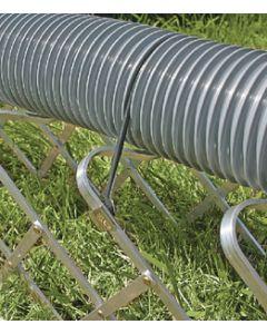 Sewer Hose Support 15' Folding - Aluminum Folding Sewer Hose Support