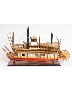 Old Modern Handicrafts King of Mississippi River Boat Model