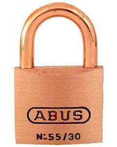 Abus Lock Padlock Brass 1-1/4in 55/30mbc