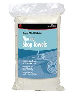 Buffalo Industries Marine Shop Towels -25 Pk Bag