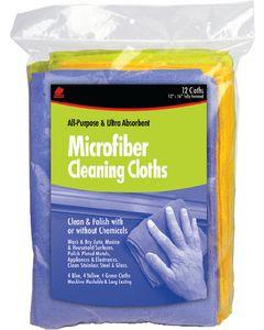 Buffalo Industries Microfiber Detailer Cloth 12pk