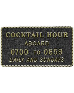 Bernard Cocktail Hour Marine Signs & Plaques