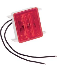 Fulton Products Led#86 Red Wrap Around Light - Led Single Tail Light #86 Series