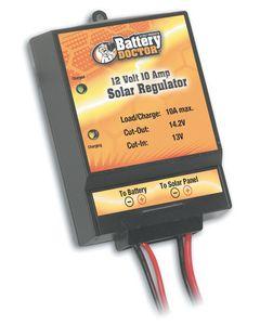 Wirthco Solar Controller 10A - 12 Volt 10 Amp Solar Regulator