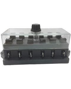 Battery Doctor 6-WAY BLADE FUSEHOLDER W/LUCAR