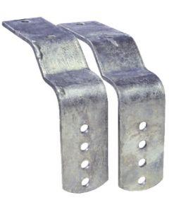 """Tie Down Engineering Offset Brackets For 8"""" & 12"""" Metal Fenders"""