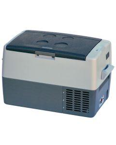 Norcold Refrigerator/Freezer, 45 Liter, Black/Gray