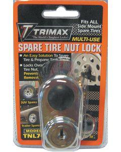 Trimax SPARE TIRE NUT LOCK
